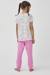 Picture of GIRLS RAINBOW 4 PACK PJ SET